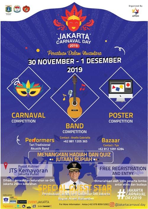 "Jakarta Carnaval Day 2019 ""Persatuan Dalam Nusantara"""