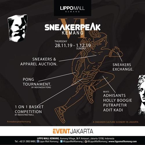 Sneakerpeak Kemang Vol. VI