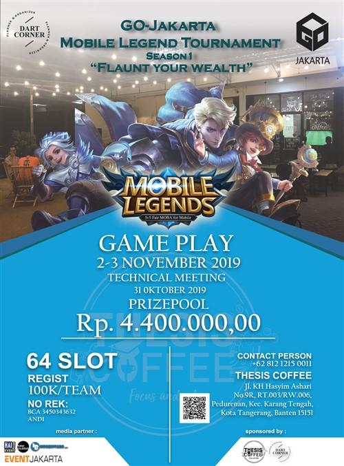 "Mobile Legend Tournament Season 1 ""Falunt Your Wealth"""