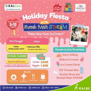 Holiday Fiesta with Rumah Main Stream
