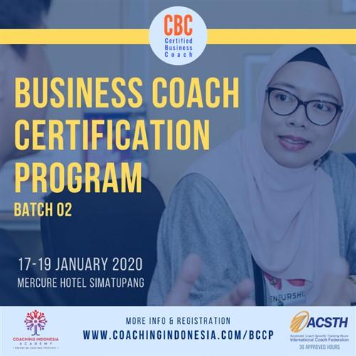 Business Coach Certification Program Batch 2