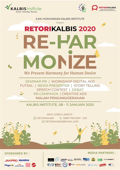 "RETORIKALBIS 2020 ""Reharmonize"""