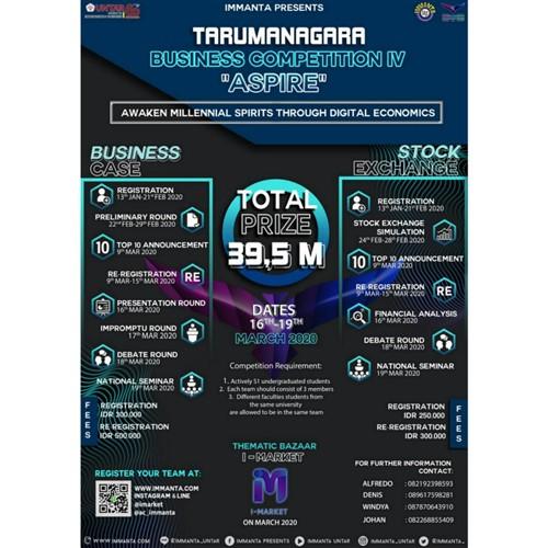 "Tarumanagara Business Competition IV ""ASPIRE"""