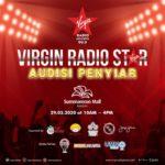 Virgin Radio Star Audisi Penyiar