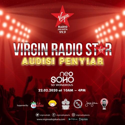 "Virgin Radio Star ""Audisi Penyiar"""