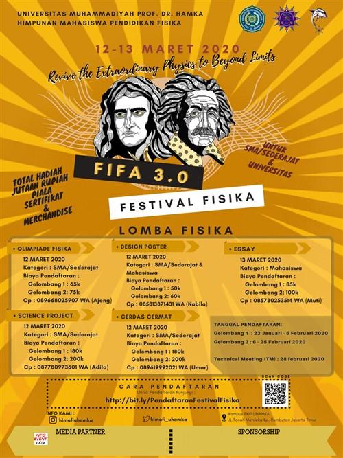 FIFA 3.0 FESTIVAL FISIKA