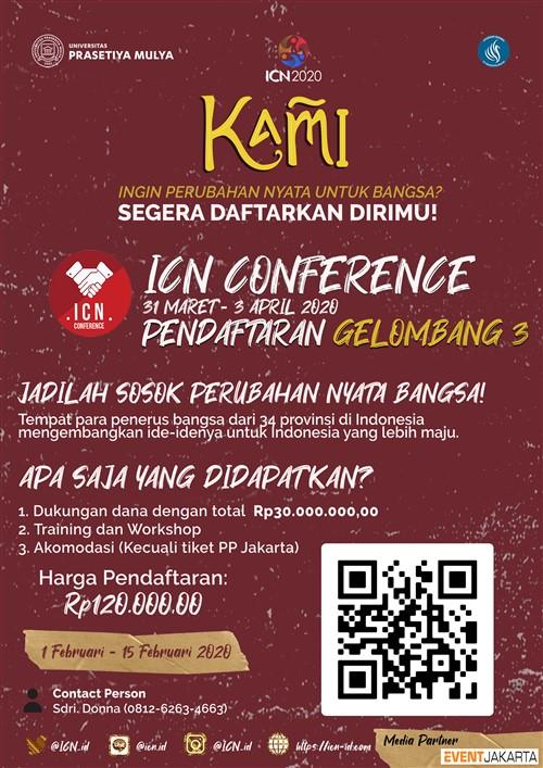 ICN Conference 2020 (Lomba Konferensi Skala Nasional)
