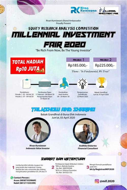 Millenial Investment Fair 2020
