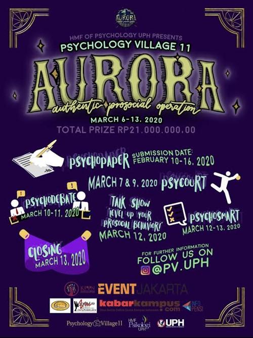 "Psychology Village 11 AURORA ""Authentic Prosocial Operation"""