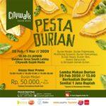 Pesta Durian Citywalk Gajah Mada