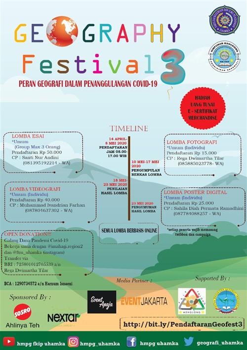 Geography Festival III