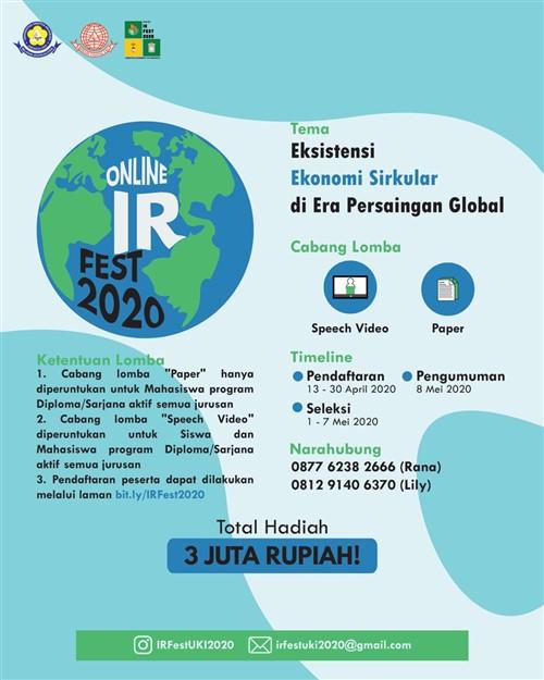 Online IR Fest 2020