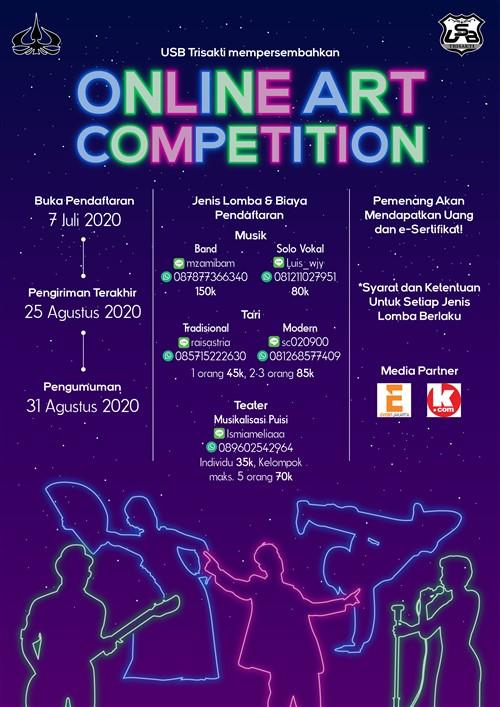 USB Trisakti Online Art Competition